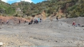 Cercatori di  ... minerali ferrosi nella più antica miniera a cielo aperto dell'Isola d'Elba