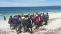 Spiaggia delle Ghiaie a Portoferraio. Uno dei punti d'approdo dei mitici Argonauti