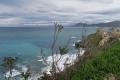 La costa vista dai Bastioni Medicei