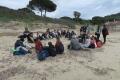 Attività didattica fra le dune di Lacona